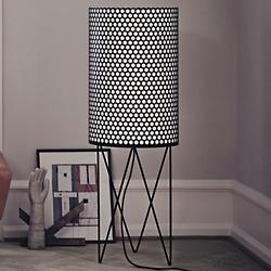 Pedrera PD2 Floor Lamp (Matte Black) - OPEN BOX RETURN