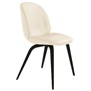 Shown in Eros 56 Natural fabric, Blackstained Beech base