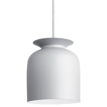 Shown in Matte White finish, Small size