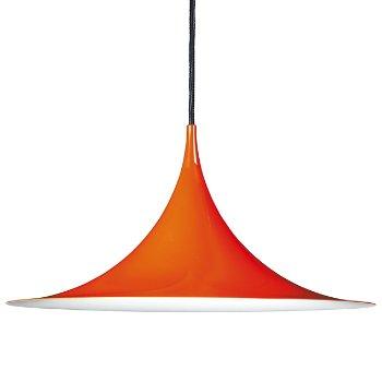 Shown in Glossy Orange finish, Medium size
