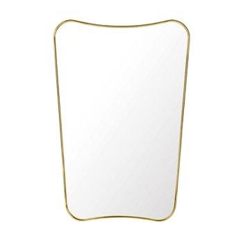 Shown in Brass finish, Medium size