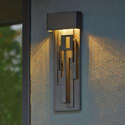 Collage Outdoor LED Tall Wall Sconce