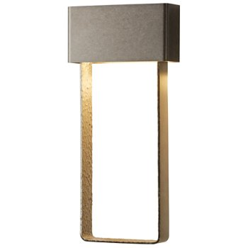 Quad LED Outdoor Tall Wall Sconce