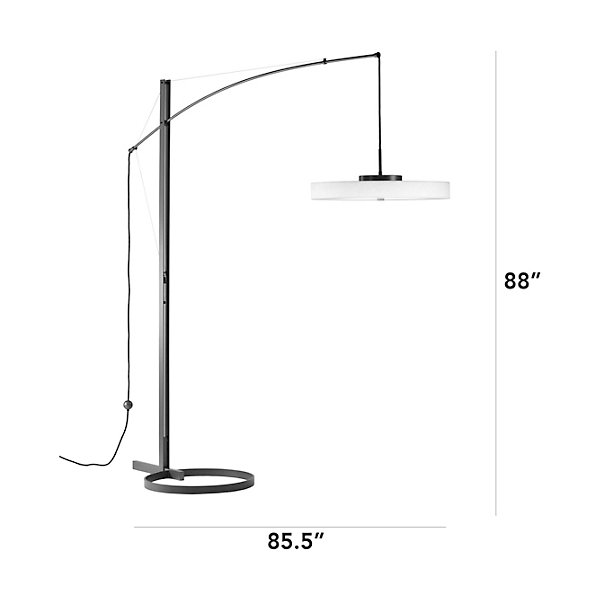 Disq LED Floor Lamp