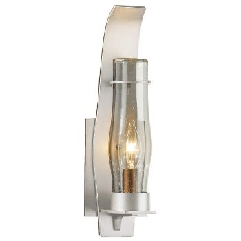Shown in Seeded Clear shade, Coastal Burnished Steel finish, Small size