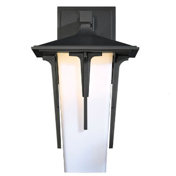 Shown with Pearl shade, in Coastal Burnished Steel finish, Small size