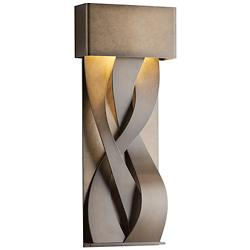 Tress Outdoor LED Wall Sconce (Bronze/Sm) - OPEN BOX RETURN