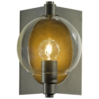 Shown with Clear shade, in Coastal Dark Smoke finish, Small size