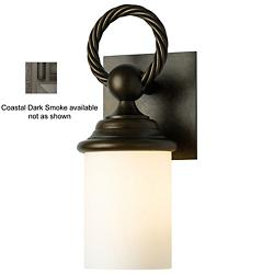 Cavo Coastal Outdoor Wall Sconce (Opal/Smoke) - OPEN BOX