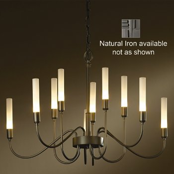 Lisse Chandelier (Natural Iron) - OPEN BOX RETURN