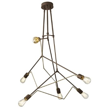 Shown in Bronze with Soft Gold accent finish