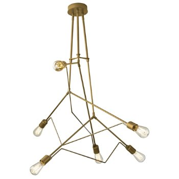 Shown in Gold with Soft Gold accent finish