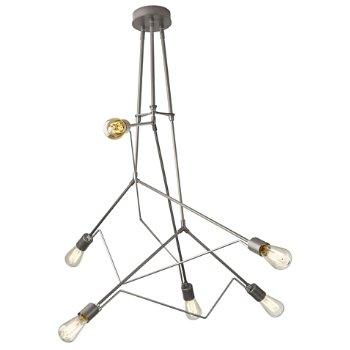 Shown in Burnished Steel with Vintage Platinum accent finish