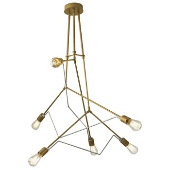 Shown in Gold with Vintage Platinum accent finish