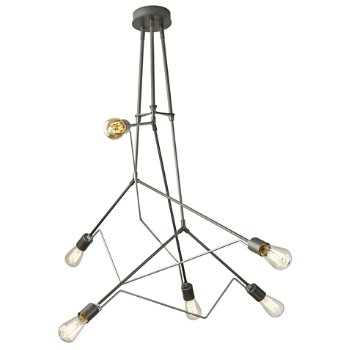 Shown in Natural Iron with Vintage Platinum accent finish