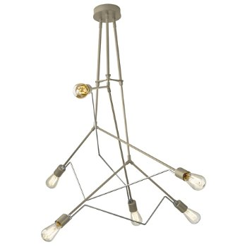 Shown in Soft Gold with Vintage Platinum accent finish