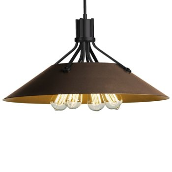 Shown in Black finish with Bronze Shade finish