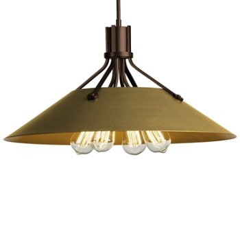 Shown in Bronze finish with Gold Shade finish