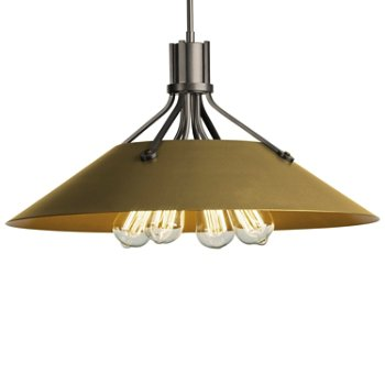 Shown in Natural Iron finish with Gold Shade finish