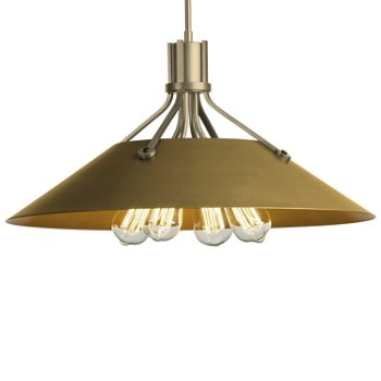 Shown in Soft Gold finish with Gold Shade finish