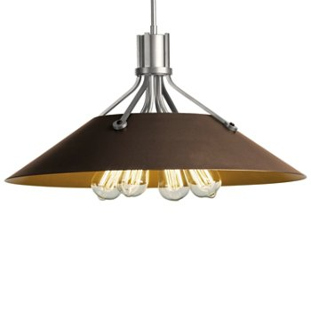 Shown in Vintage Platinum finish with Bronze Shade finish