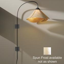Arc Swing Arm Wall Sconce (Spun Frost/Dark Smoke) - OPEN BOX