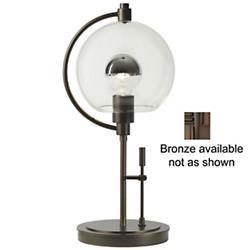 Pluto Table Lamp (Clear/Bronze) - OPEN BOX RETURN