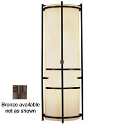 Extended Bars Sconce With Faux Alabaster (Bronze) - OPEN BOX
