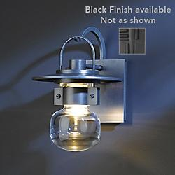 Mason Outdoor Wall Sconce (Black/Small) - OPEN BOX RETURN