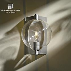 Pluto Wall Sconce (Clear/Platinum/Large) - OPEN BOX RETURN