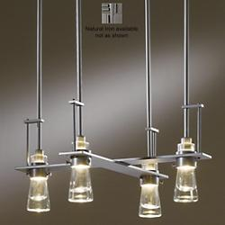 Erlenmeyer 4-Light Pendant (Iron/Standard) - OPEN BOX
