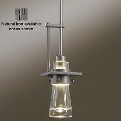 Erlenmeyer Mini Pendant (Clear/Iron/Standard) - OPEN BOX
