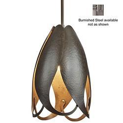 Pental Pendant (Burnished Steel/Short) - OPEN BOX RETURN