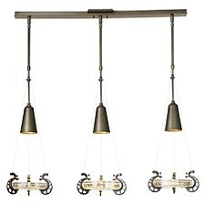 Lens Linear Chandelier Light