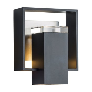 Shown in Black finish with Coastal Burnished Steel finish