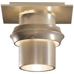 Twilight Small Outdoor Semi Flushmount (Gold) - OPEN BOX