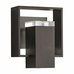 Shadow Box Outdoor Wall Sconce (Dark Smoke/Stand) - OPEN BOX