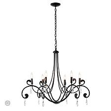 Stella 6 Arm Chandelier