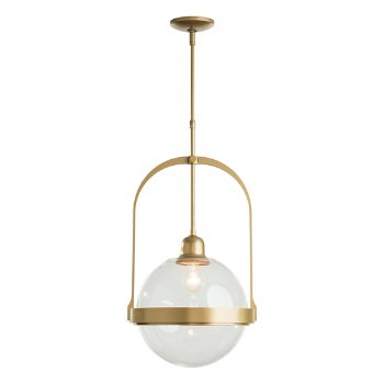 Shown in Gold finish with Opaline glass color, unlit