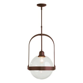 Shown in Mahogany finish with Clear glass color