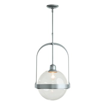 Shown in Vintage Platinum finish with Clear glass color