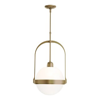 Shown in Soft Gold finish with Opaline glass color