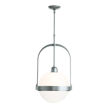 Shown in Vintage Platinum finish with Opaline glass color