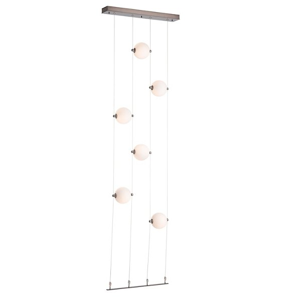 Abacus Floor to Ceiling LED  Linear Suspension