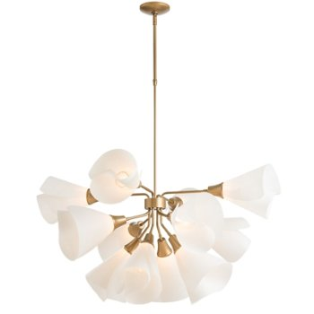 Shown in Gold finish, Long size