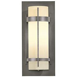 Banded Coastal Outdoor Wall Sconce(St/Iron/Med/LED)-OPEN BOX