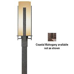 Post for Outdoor Post Lights(Mahogany/Large)-OPEN BOX RETURN