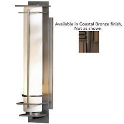 After Hours Outdoor Wall Light (Opal/Brze/L/Incand)-OPEN BOX