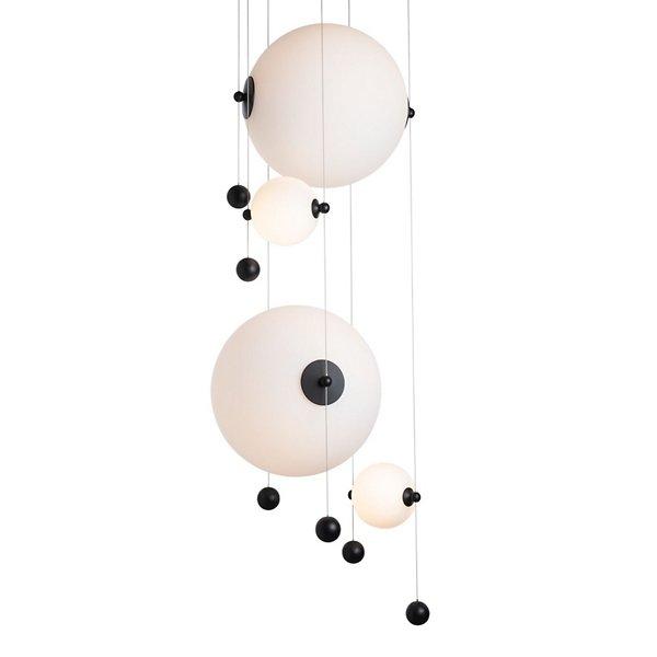 Abacus Round LED Multi-Light Pendant