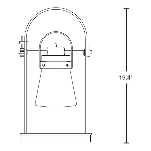 Erlenmeyer Table Lamp